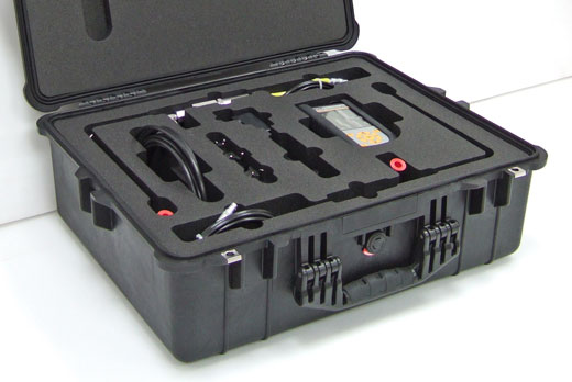 Peli case with custom foam