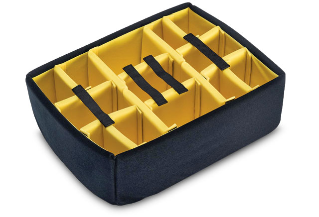 padded dividers for Peli case