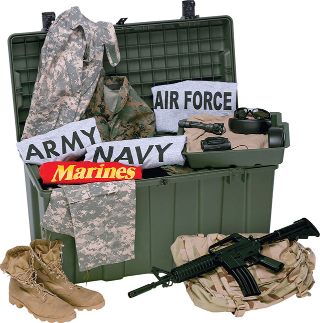 Peli Military Trunk Locker