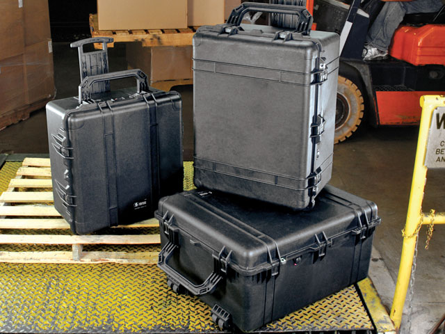 Large Peli transport cases