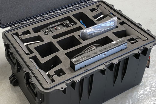 Peli Storm Case with custom foam insert
